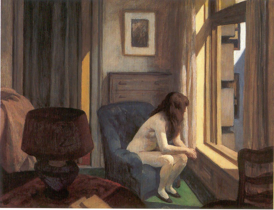 "Edward Hopper ""11 A.M."" 1926"