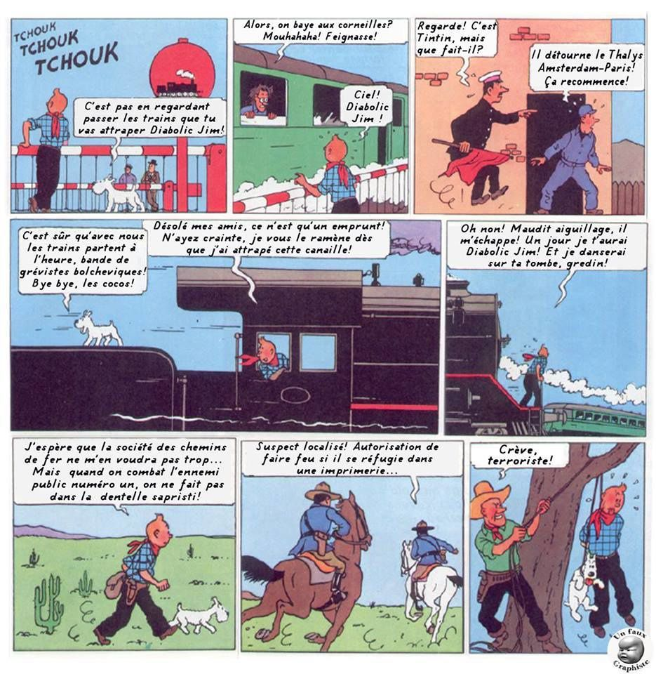 Ah Tintin, on est bien.
