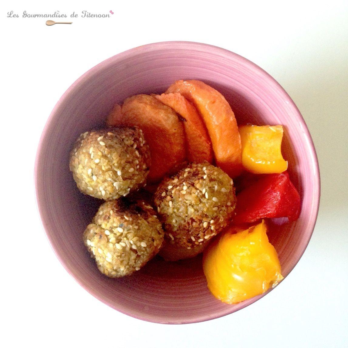 falafels & légumes rôtis