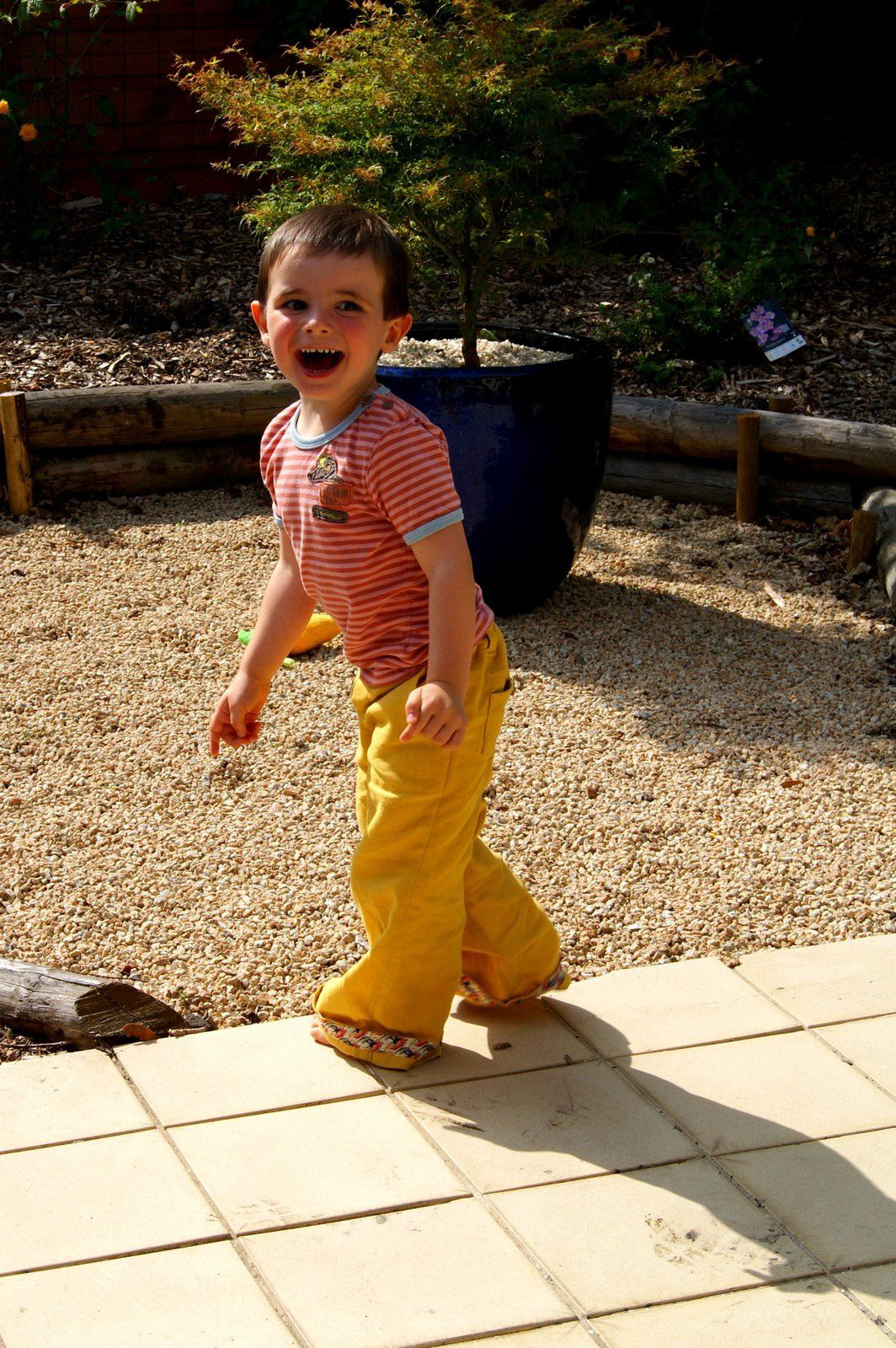 Pantalon Hukleberry de Papillon et Mandarine