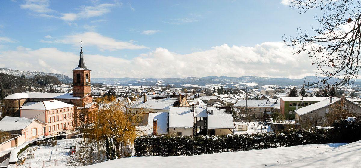BRUYERES - VOSGES : photos panoramiques pour apprécier les paysages