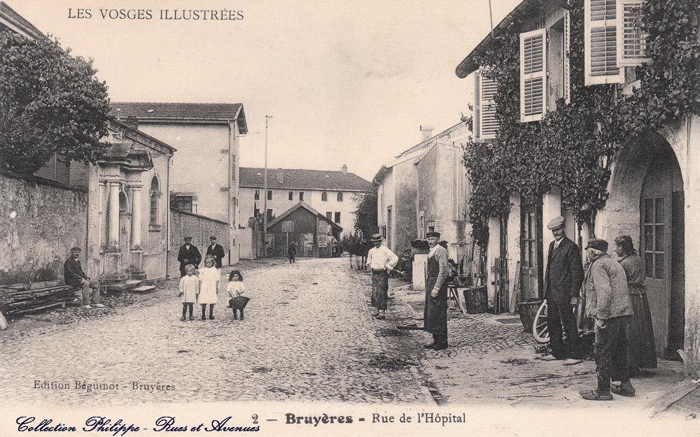 24-Nouvel Album CPA-Rues et Avenues de BRUYÈRES