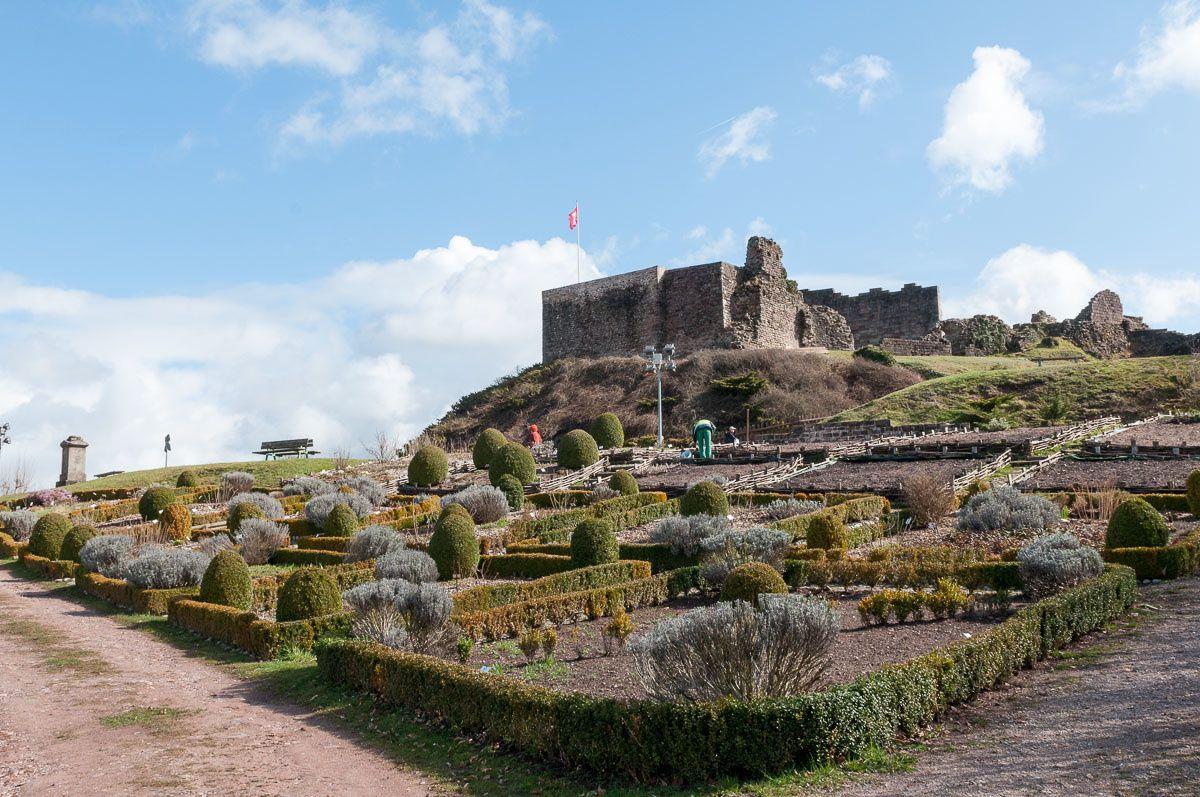 Le Parc et le Château d'Épinal