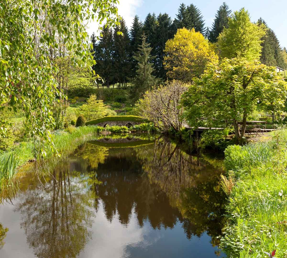 Proche de BRUYERES-VOSGES : une visite au Jardin de BERCHIGRANGES