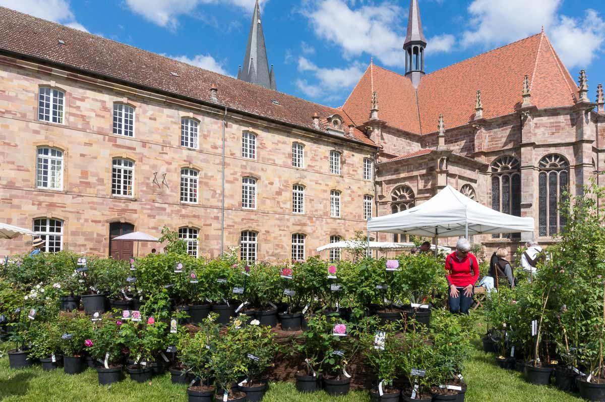 A proximité de BRUYERES-VOSGES : l'Abbaye Notre-Dame d'AUTREY