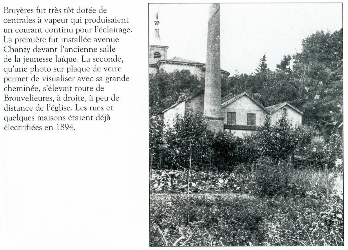 Extrait de la page 69 du livre BRUYÈRES ET SES ENVIRONS écrit par Roger Balland. (Reproduit avec l'aimable autorisation de l'auteur, en date du 19 février 2015).