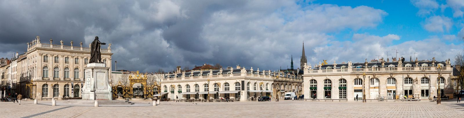 NANCY, la Place Stanislas, 1er avril 2015