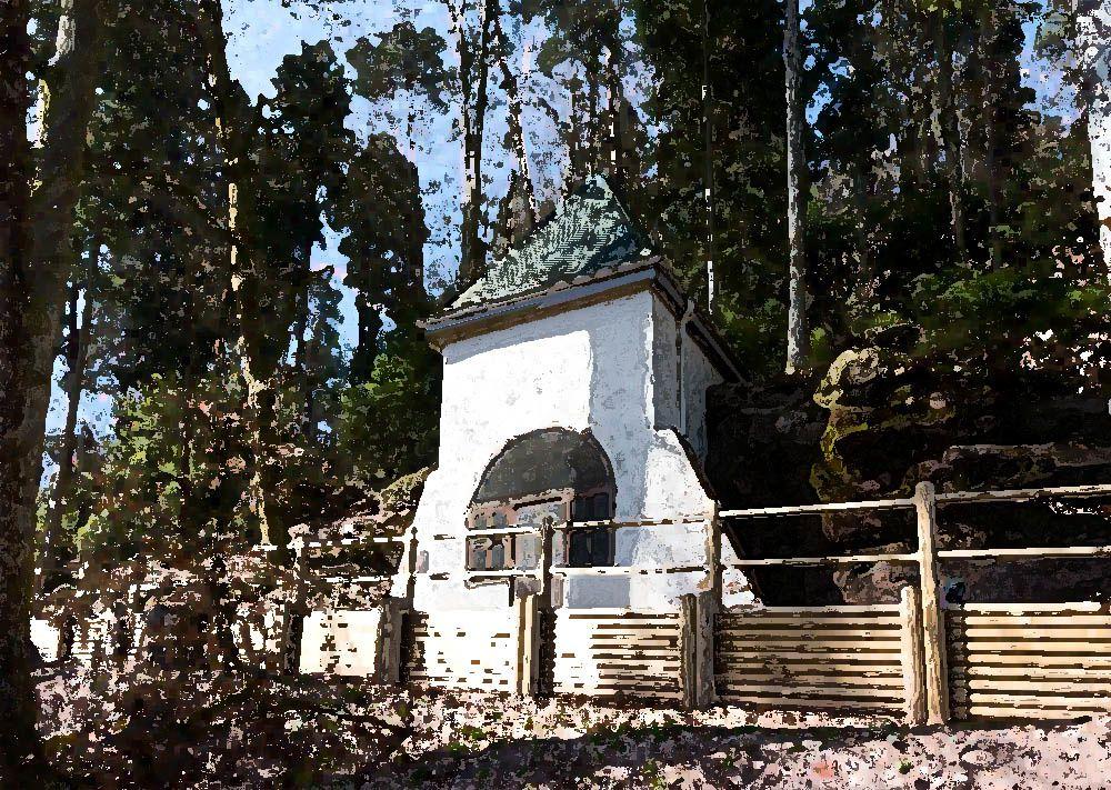 La Chapelle Notre Dame de la Roche et la Fontaine Saint-Georges