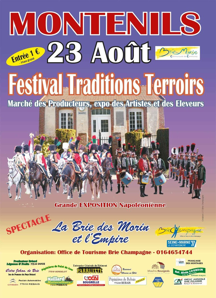 Festival tradition terroir à Montenils