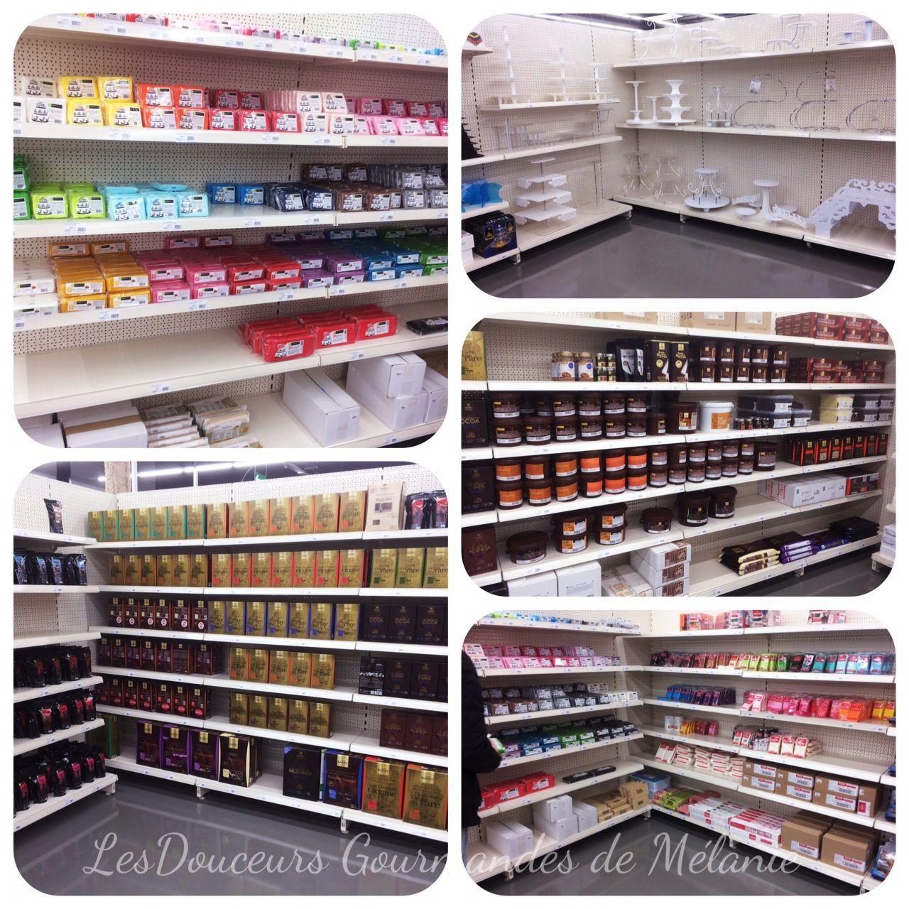 Quelques rayons du nouveau magasin Cerf Dellier à Hénin-Beaumont (Pas de Calais)
