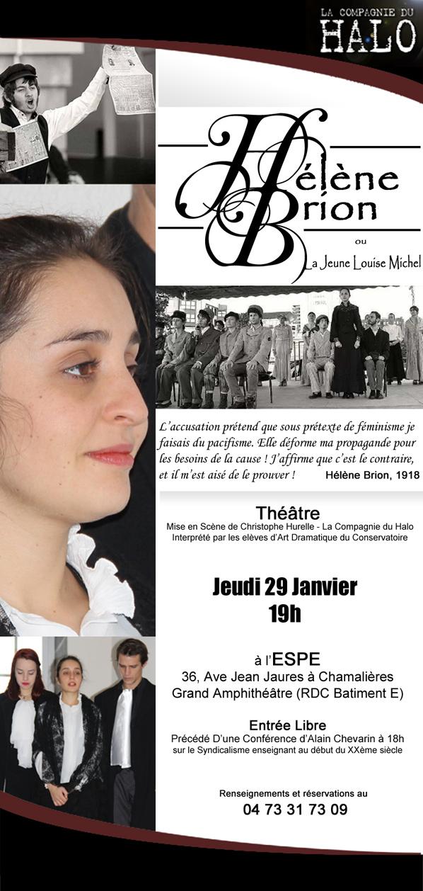 HELENE BRION ou la jeune Louise Michel