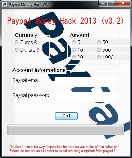 Paypal Money Hack V3 2 2013 ! - Hack4Life over-blog com