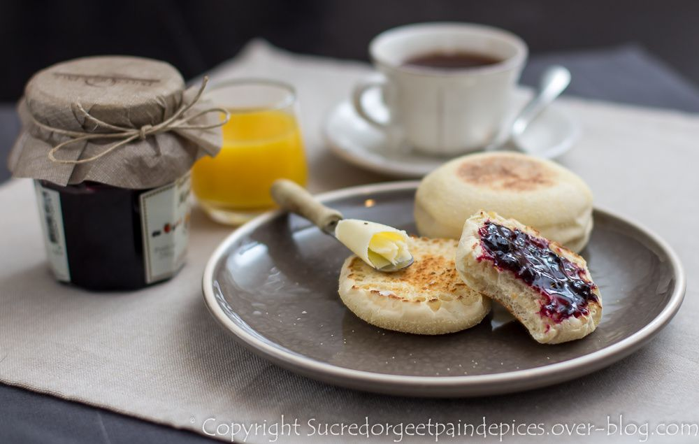 English muffins yes sir sucre d 39 orge et pain d 39 pices - Sucre d orge et pain d epice ...