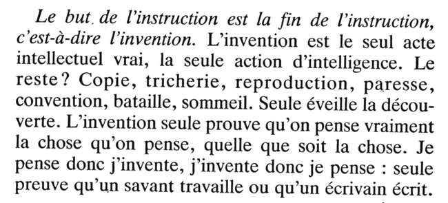 """Le Tiers-Instruit"" -1991- Editions François Bourin , page 147"