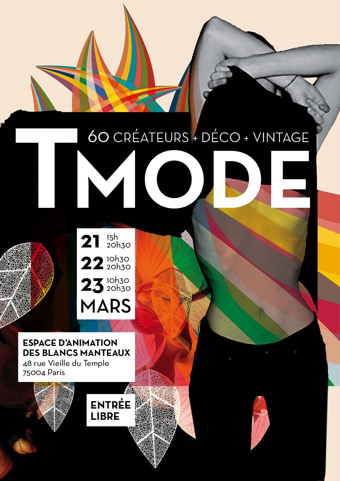 Salon t mode ce weekend espace des blancs manteaux a for Salon a paris ce weekend