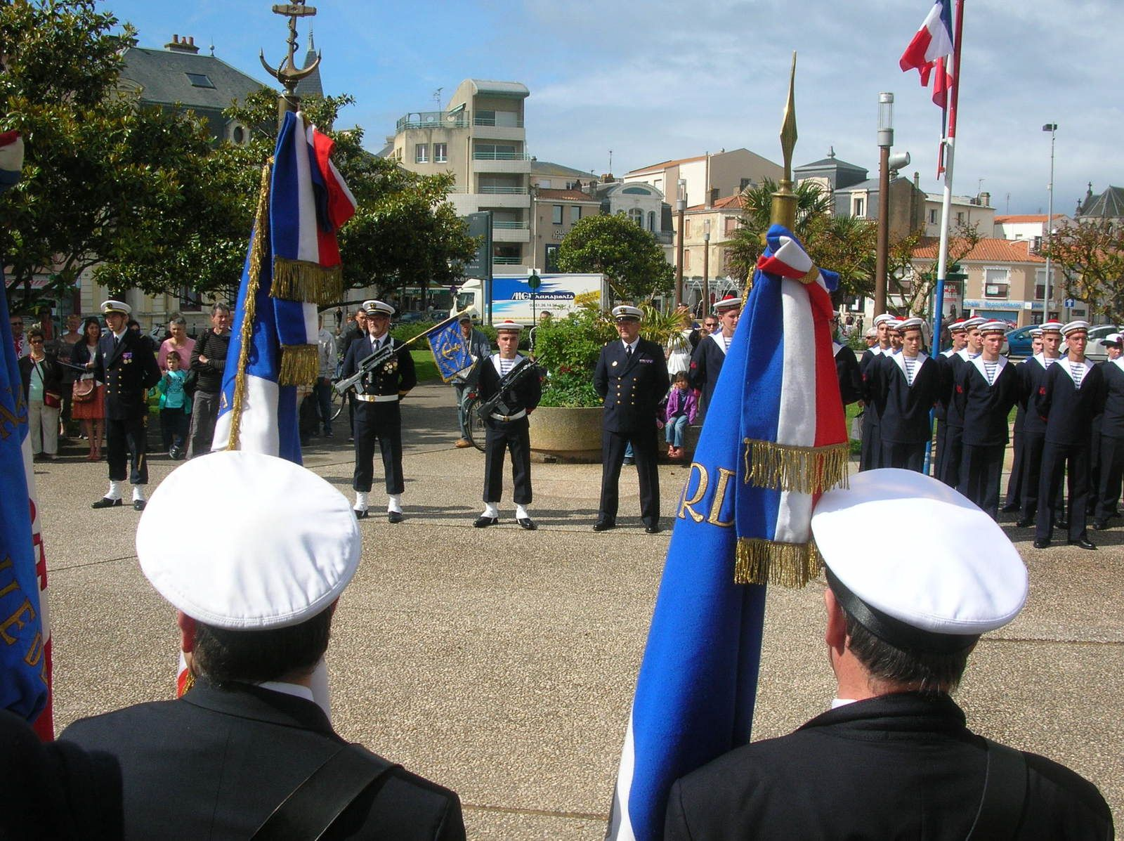 Remise des insignes et diplômes à la PMM des Sables 30 mai 2015 d'Olonne