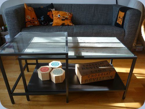 d co relooker une table de salon ikea fait main par stance. Black Bedroom Furniture Sets. Home Design Ideas