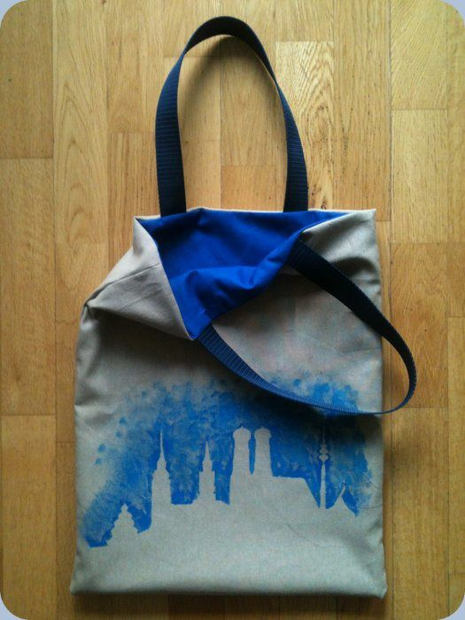 Tote bag Munich