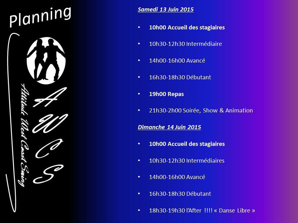 Cht'i WIL (West in Lille) 13 & 14 juin 2015