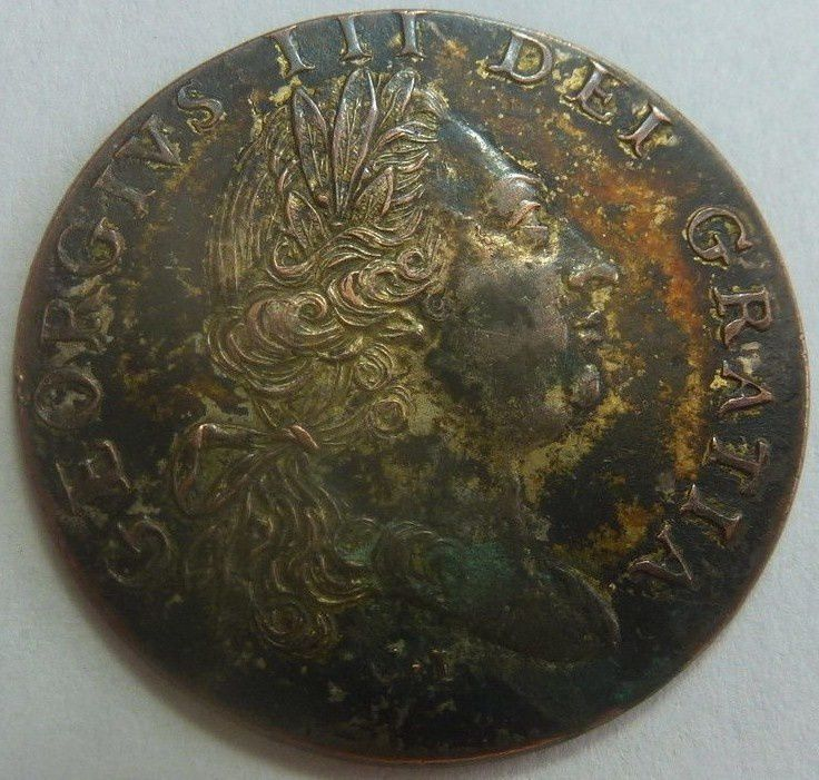 King George III Restored to Health Coin  March II 1789