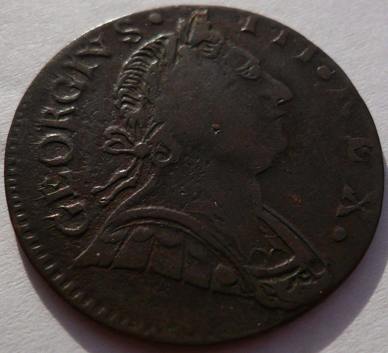 GEORGIUS . III . REX . 1773