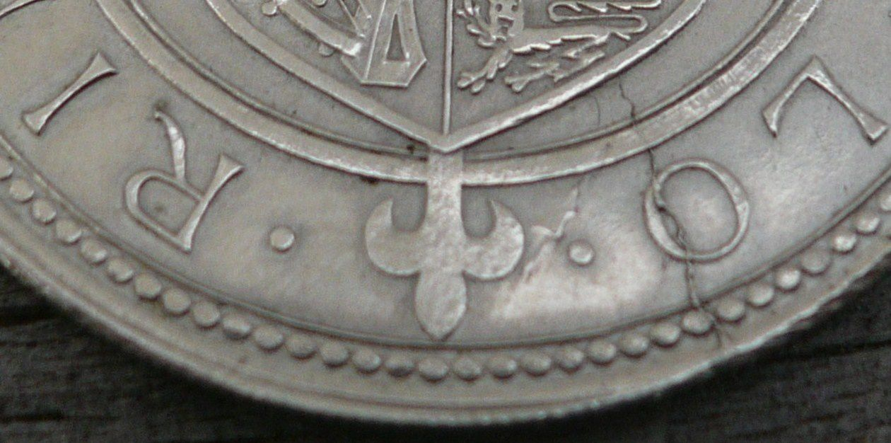 ONE Florin 1871 - Georges III