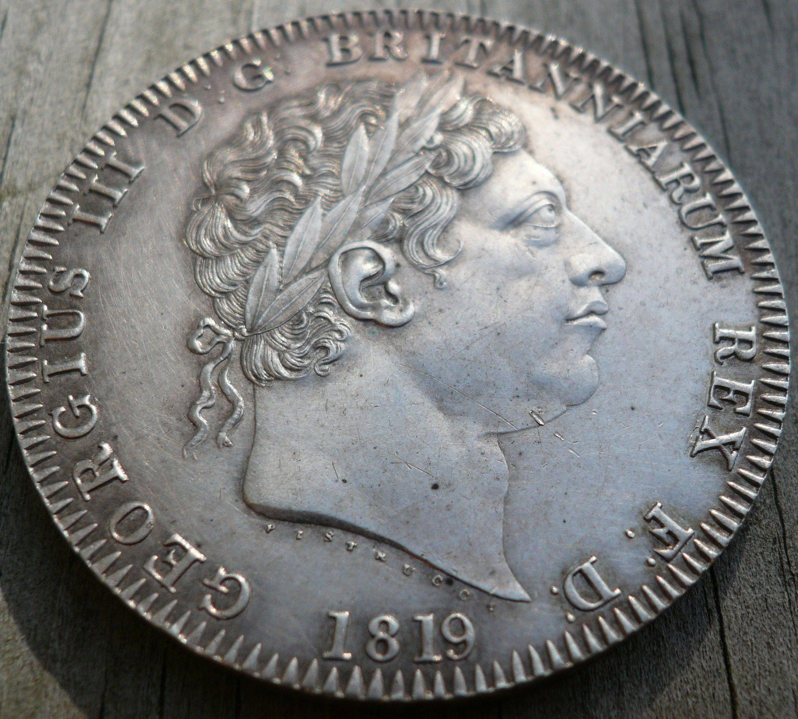 CROWN Argent Georges III