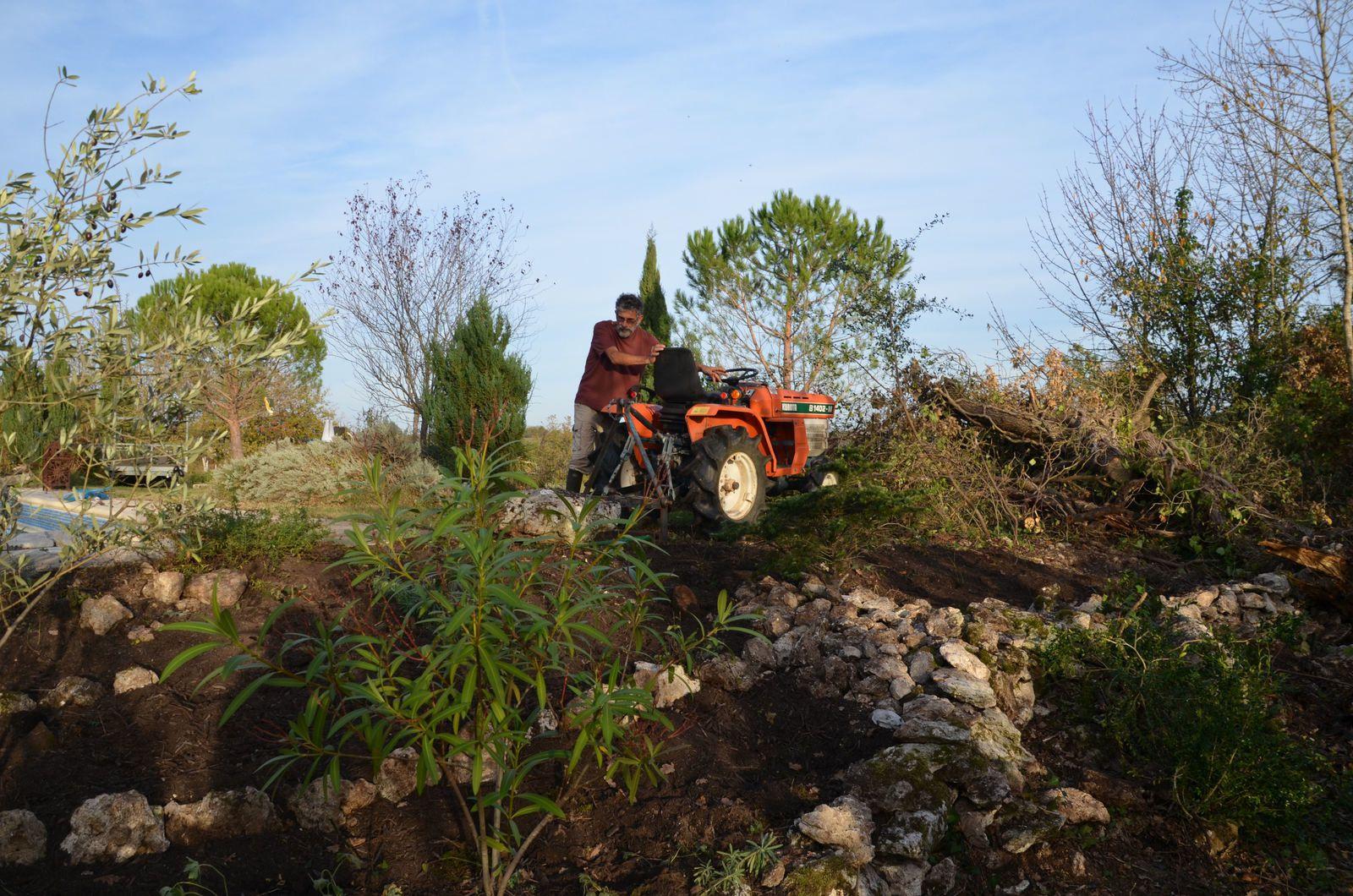 Domaine Les Cyprès - création d'un jardin