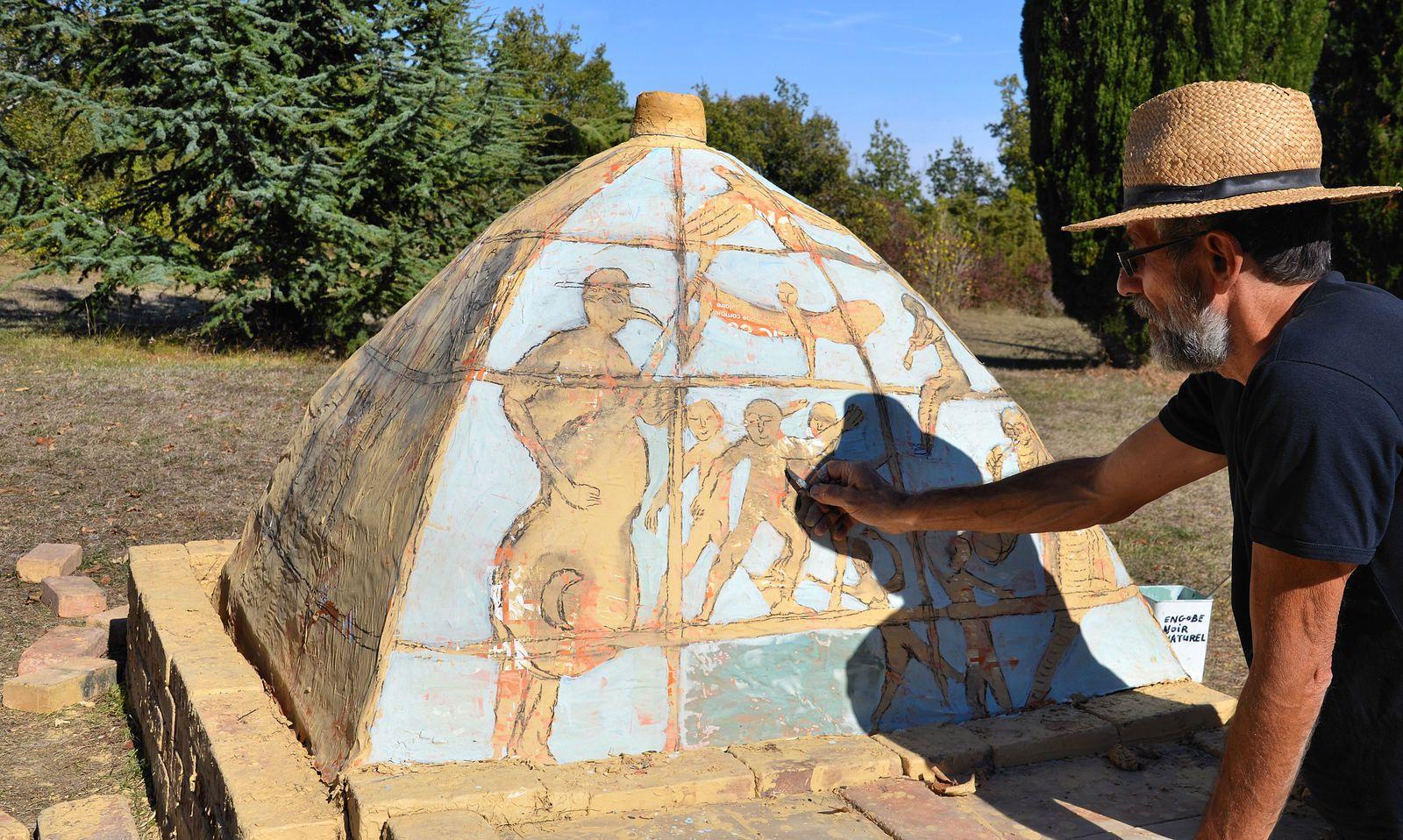 Domaine Les Cyprès - atelier - cave à vin