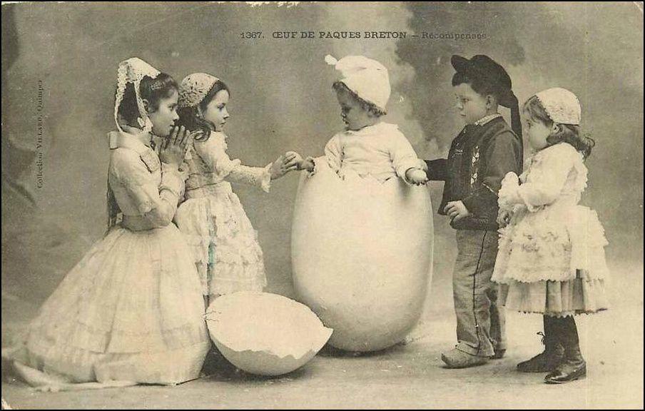 joli ce petit oeuf de Pâques...