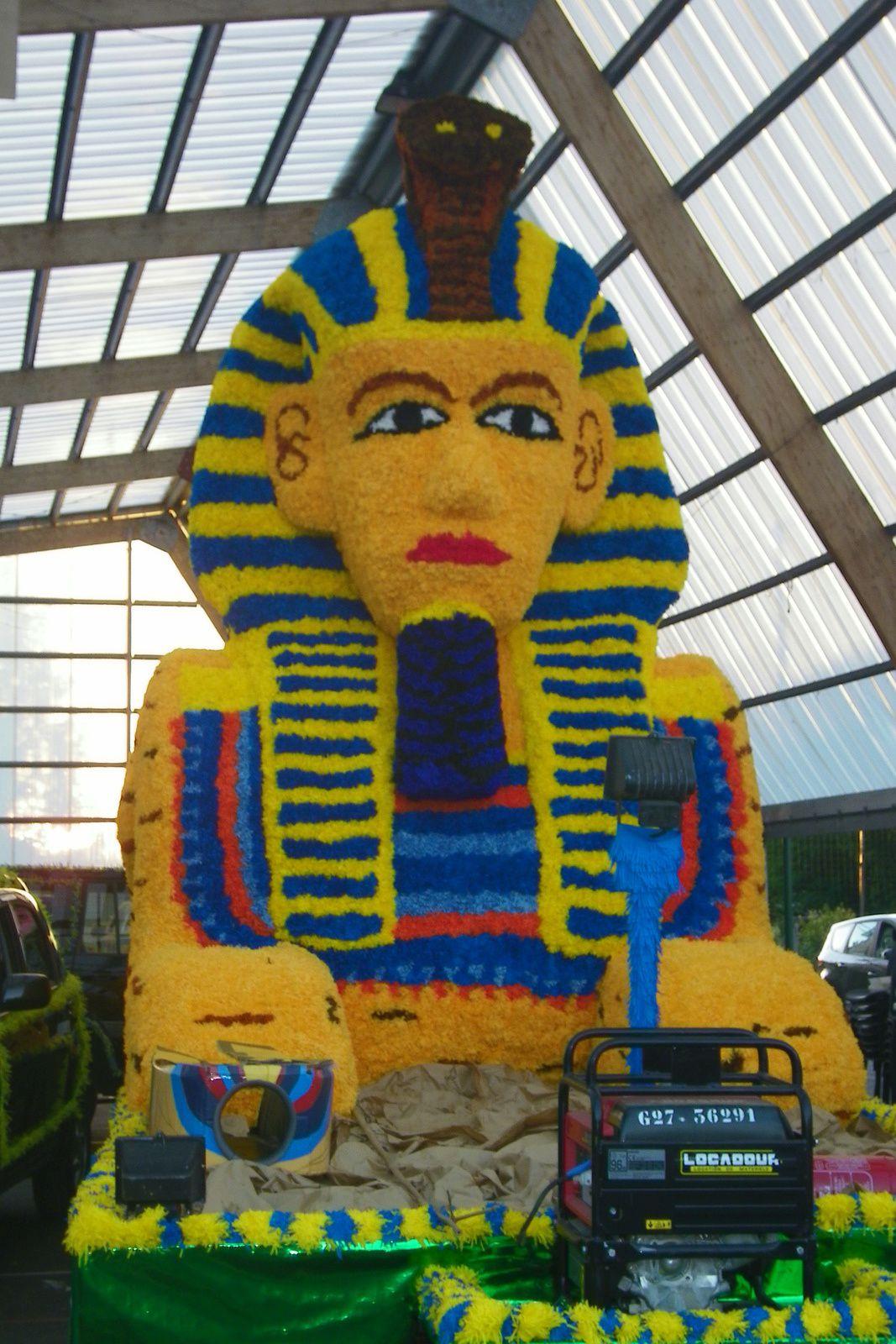 La seconde vie de notre Sphinx à Parentis !