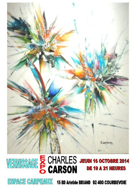 Michel Soyer expose Charles Carson