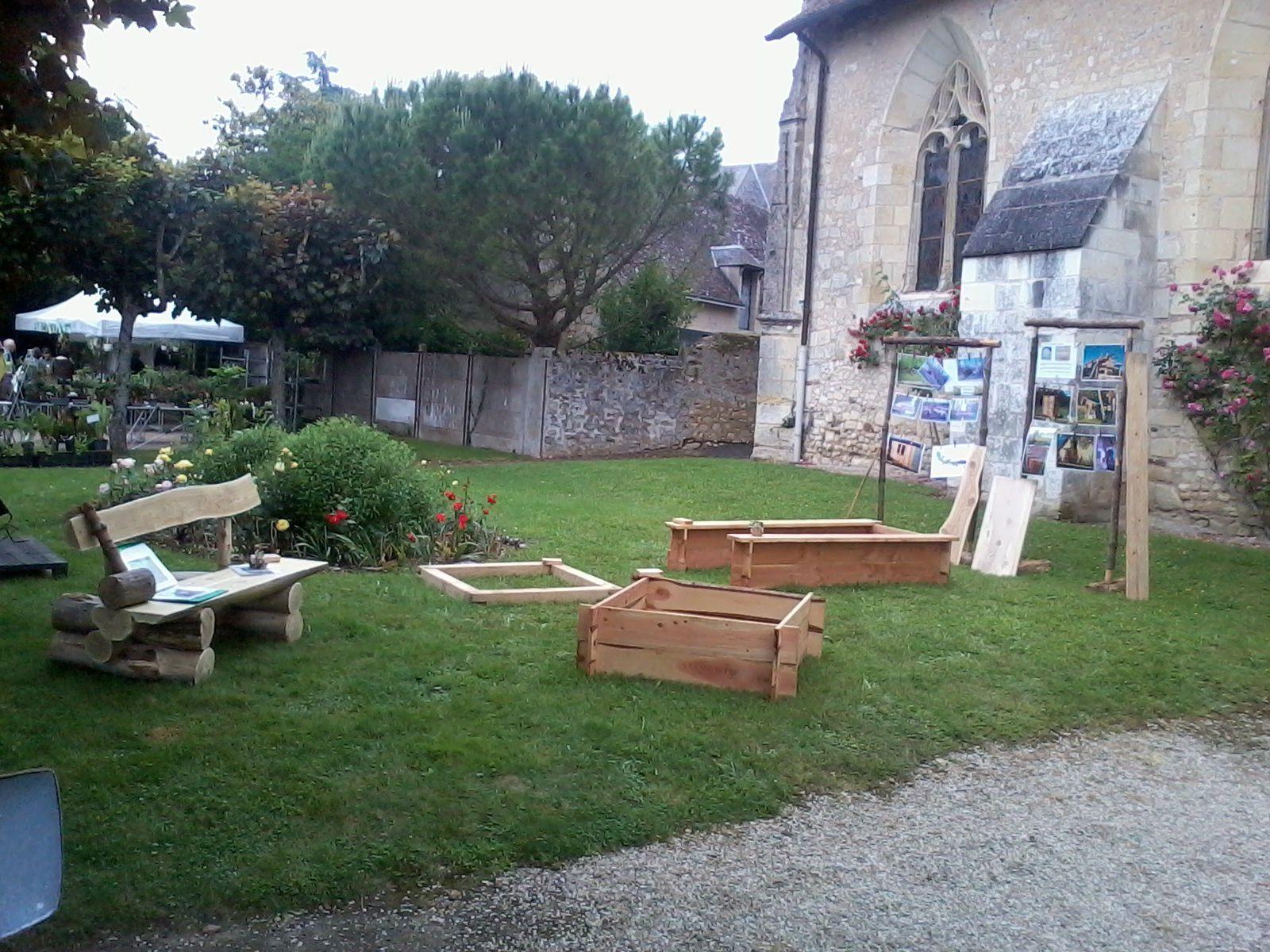 "Exemples d'utilisation ""modulaire"" (garden party du Grand Pressigny 2016)"