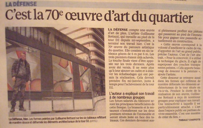 Guillaume Bottazzi / Journal Le Parisien - 23.12.2014