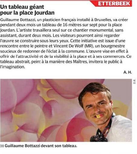 Guillaume Bottazzi : Journal DH - 15/09/2016
