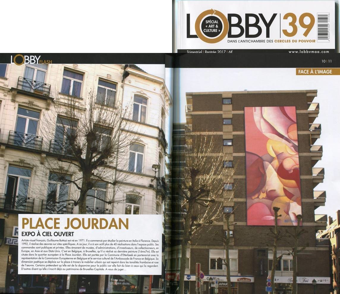 Guillaume Bottazzi / Lobby magazine