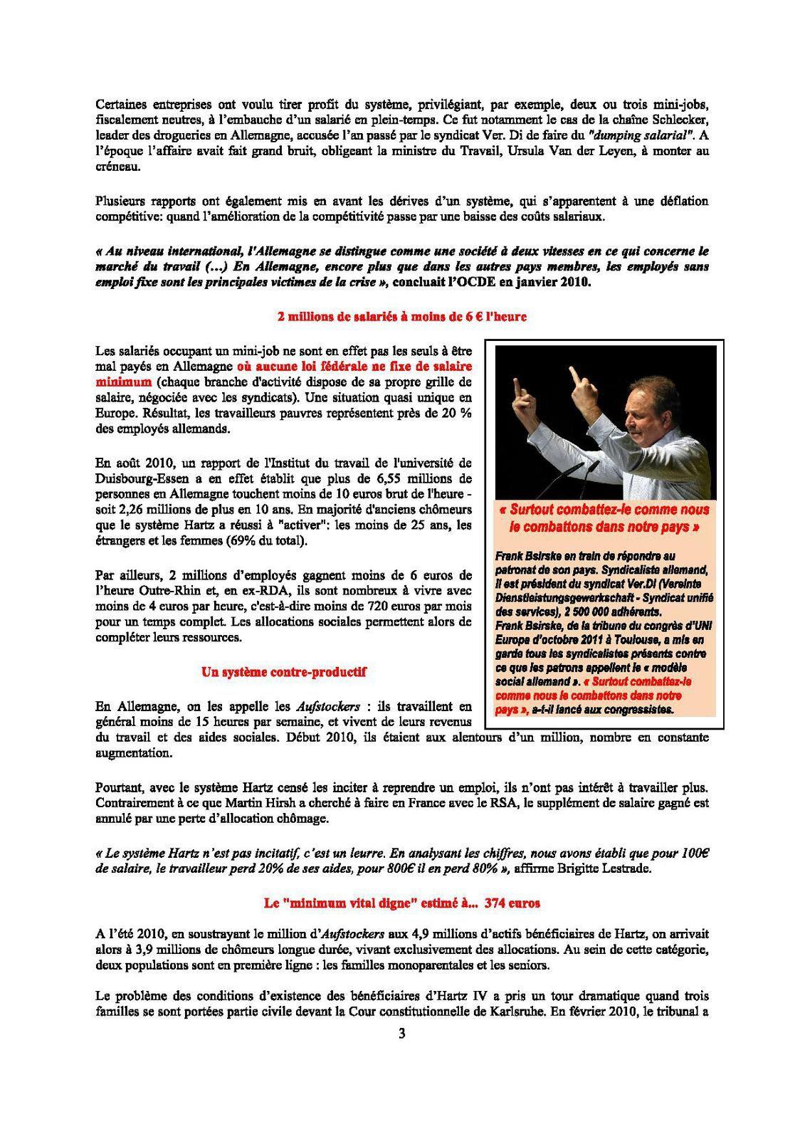 Hollande rêve de Berlin et des « lois Hartz »