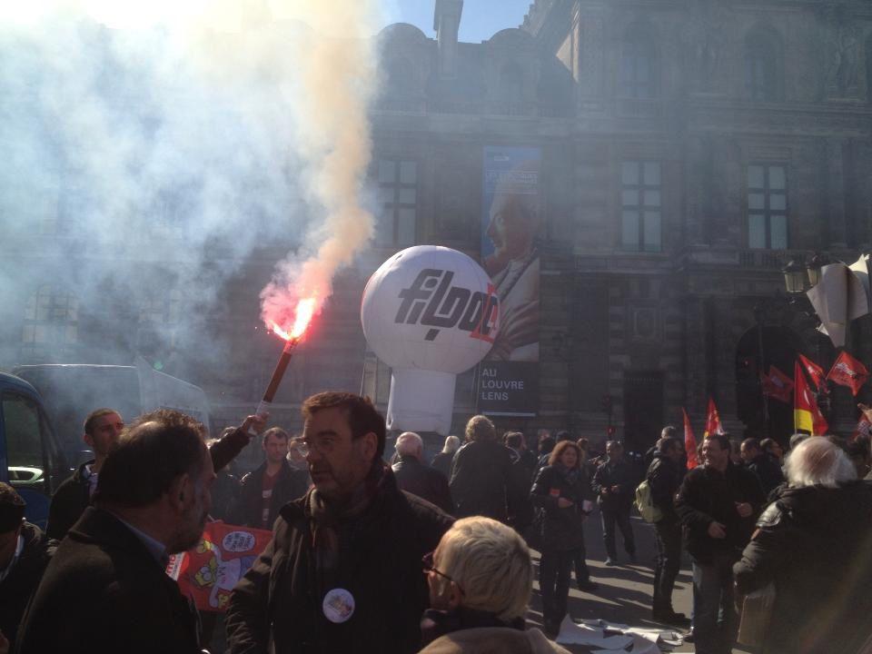 Rassemblement Ministère de la culture du 06/03/2014