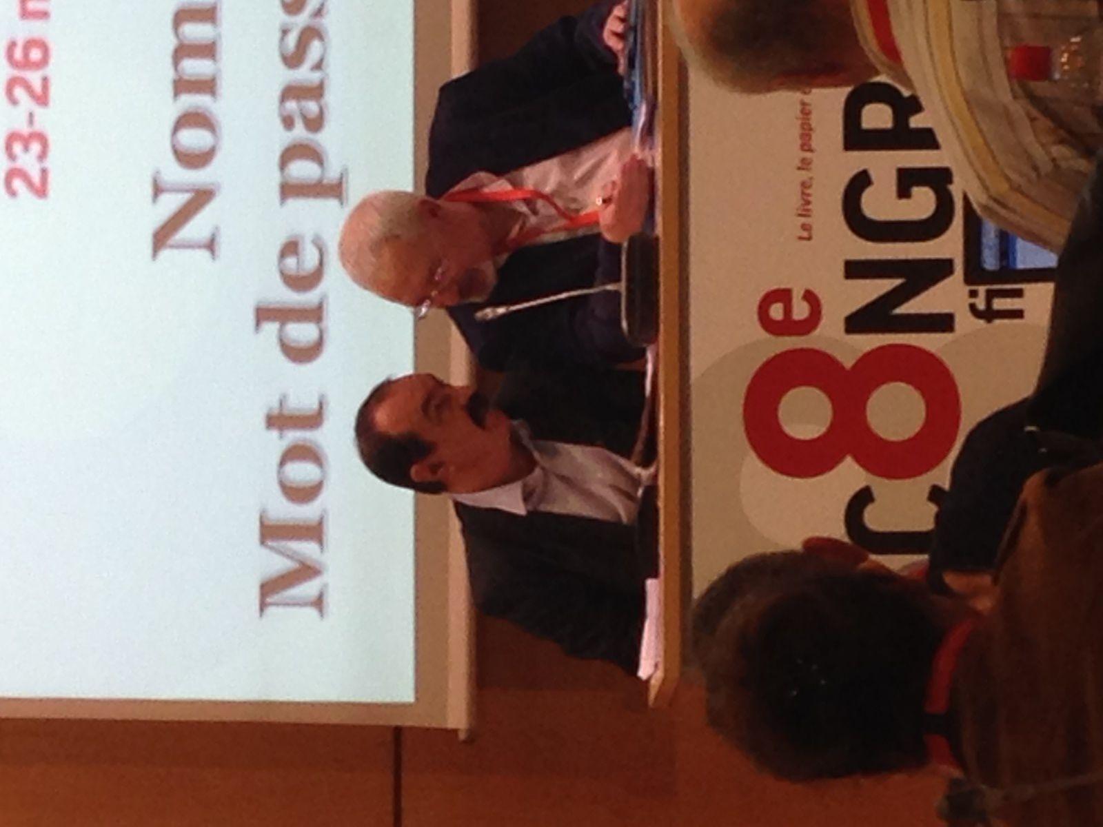Présence du secrétaire général de la CGT au congrès de la FILPAC: Philippe Martinez