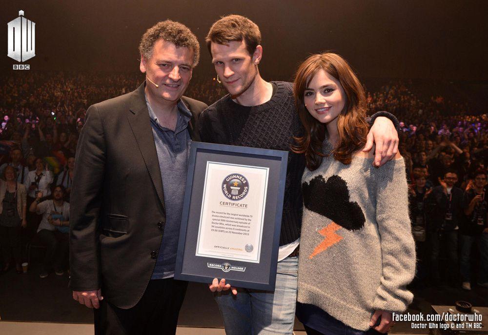 Doctor Who : The Day of the Doctor reçoit le record du monde du plus gros simulcast pour une série