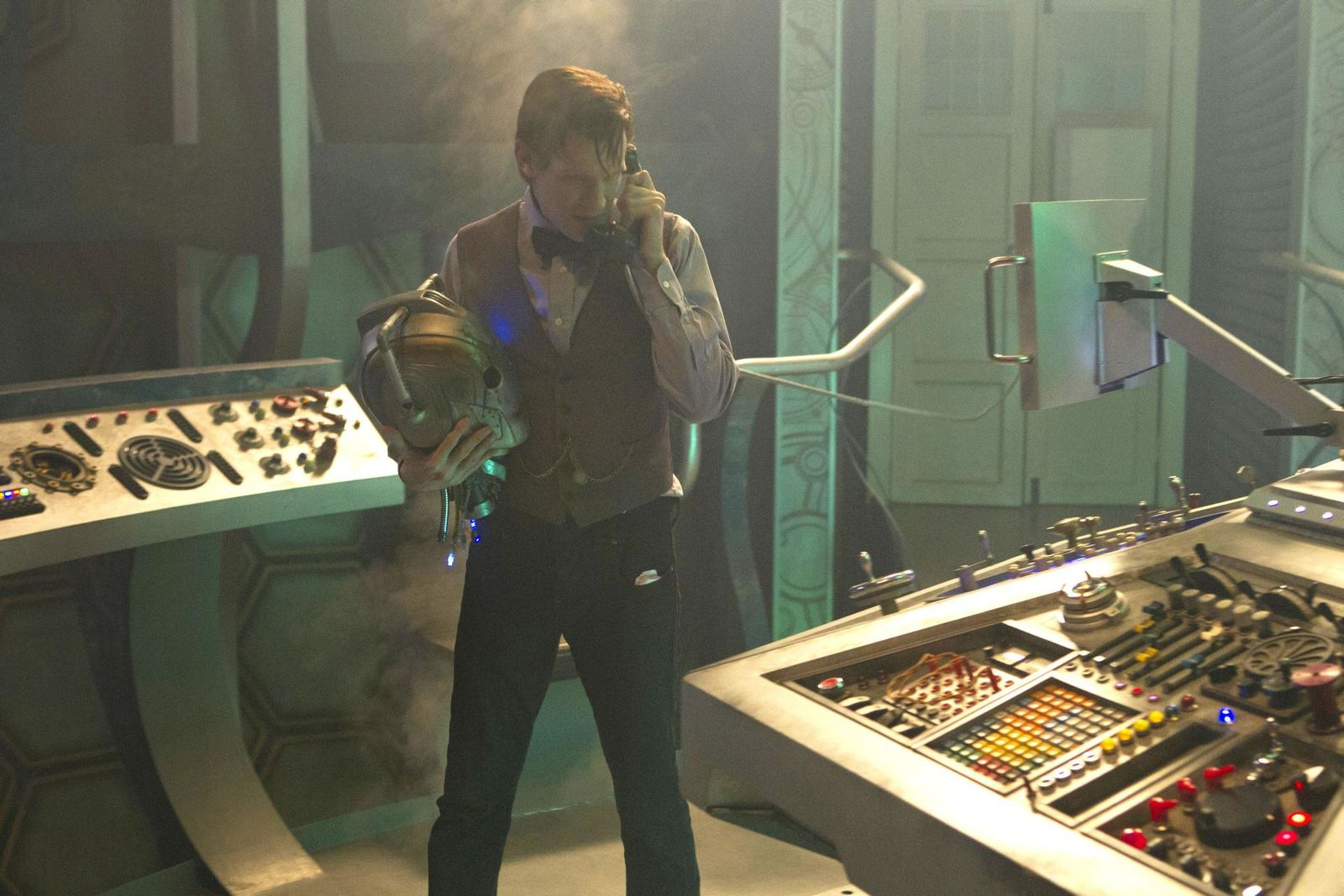 The Time Of The Doctor : Un poster et de nouvelles images !
