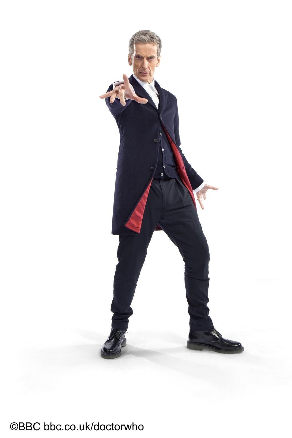 Doctor Who : Découvrez le costume du 12ème Docteur !