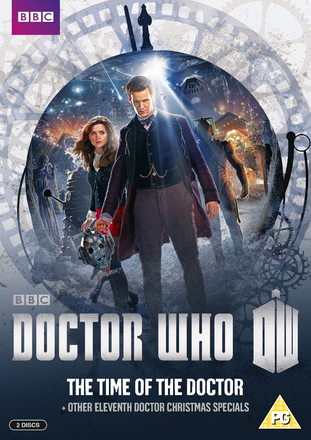 The Time of the Doctor : Détails du DVD/Blu-Ray