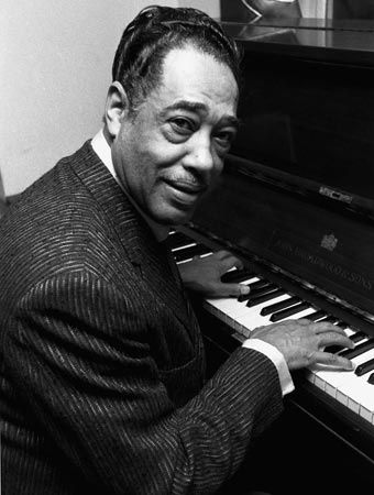 "Le pianiste Edward Kennedy ""Duke"" ELLINGTON (1899 - 1974)"