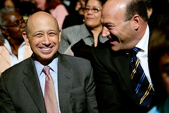 BLANKFEIN et COHN (source : picturedotnews.com)