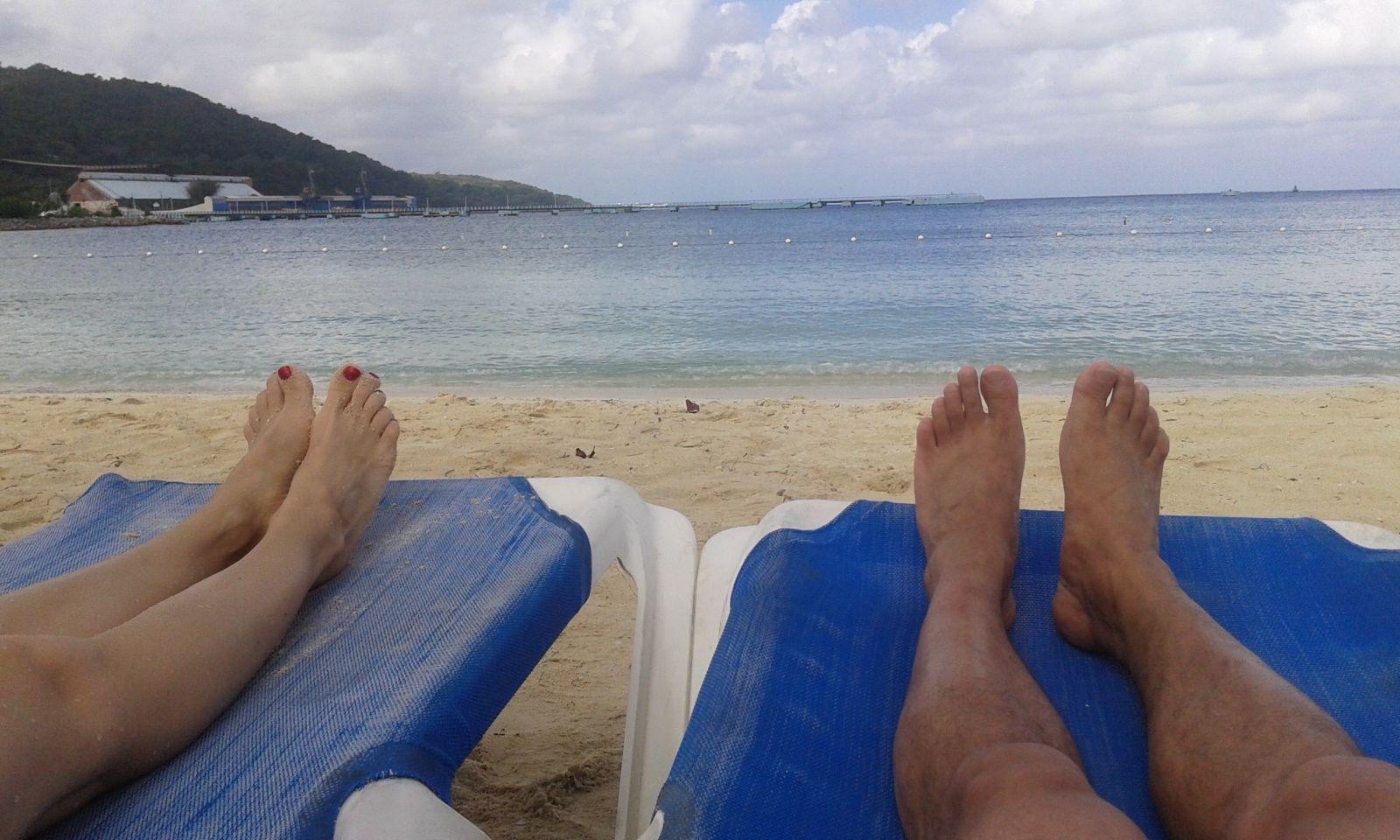 La plage à Ocho Rios