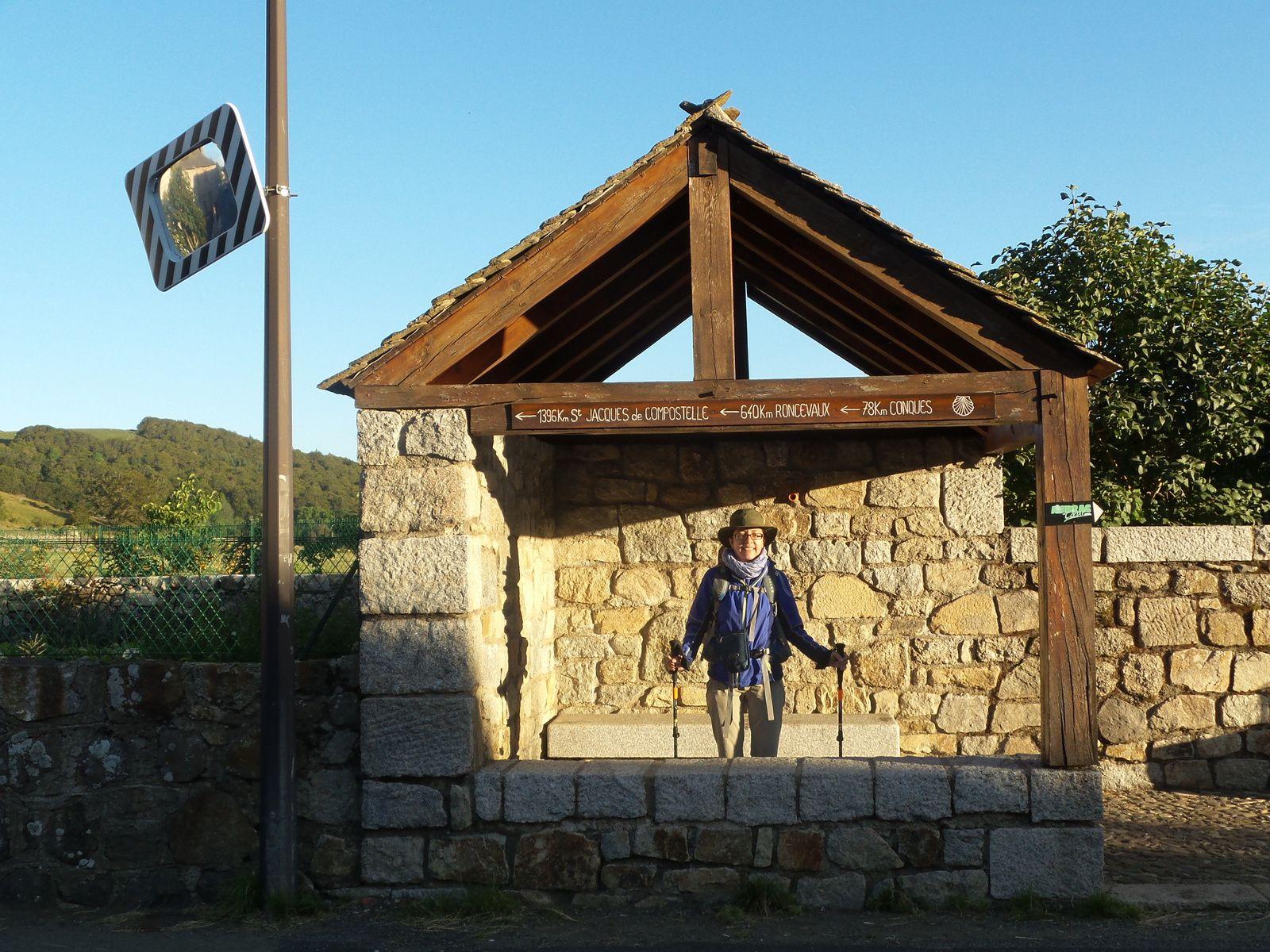 J6 Nasbinals à Saint Chely d'Aubrac 16 km