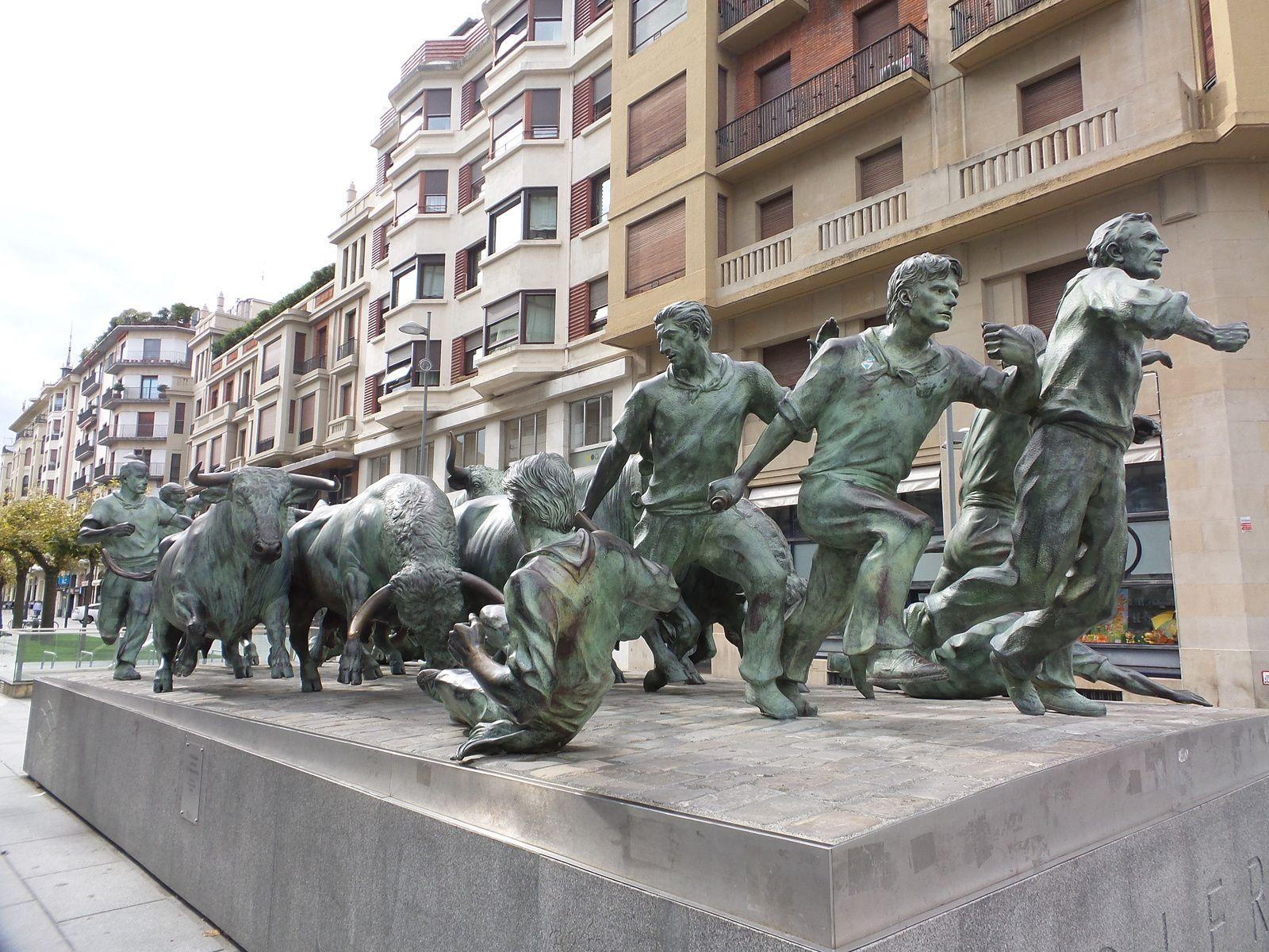 Pamplona, une très belle ville ou on est bien accueilli.