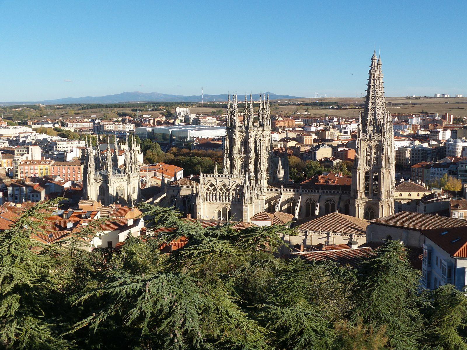 La cathédrale de Burgos mérite vraiment une visite, un vrai bijou!