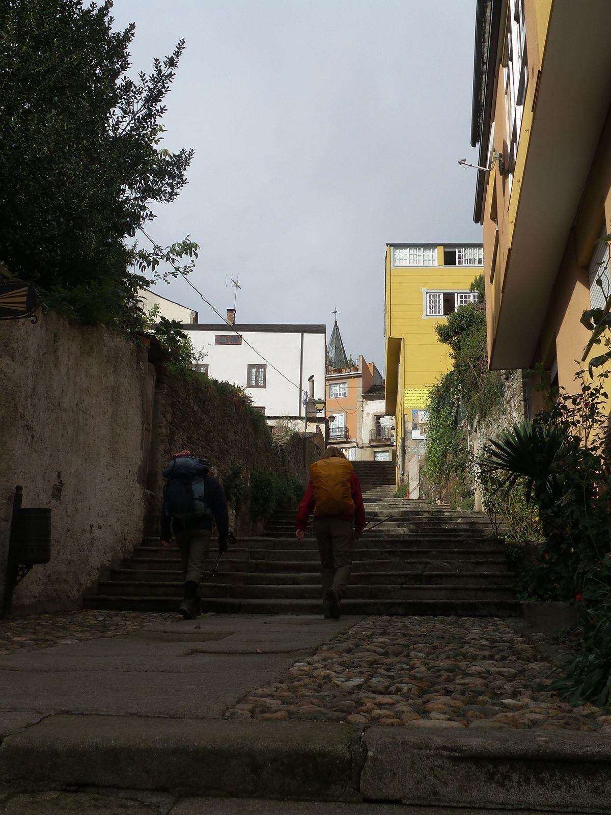 Sarria, dernière ville pour commencer le pèlerinage de Compostelle